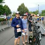 Das Team von das Autombil beim Ironman