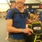 Manuel beim Ironman.